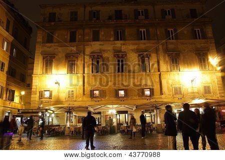 Night Life In Trastevere