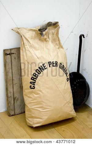 Bag With Coal