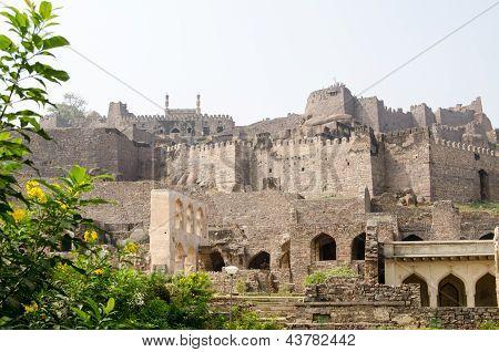 Golcanda Fort, Andhra Pradesh