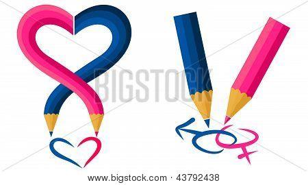 in love pencils.eps