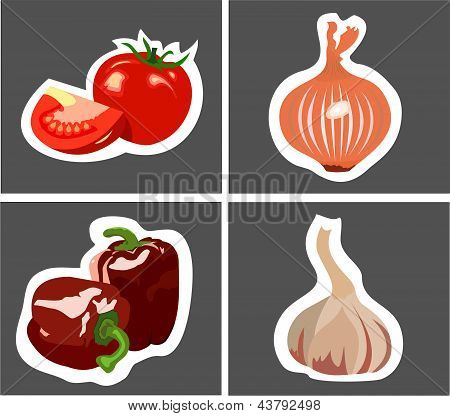 tomato onion garlic peppers.eps