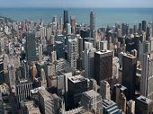 image of willy  - View of skyscrapers from Willis Tower in Chicago - JPG
