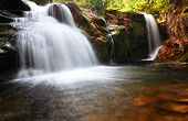 pic of lps  - Small elbe waterfall in czech republic  - JPG