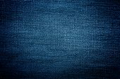 stock photo of denim jeans  - Blue denim jeans cloth texture as background - JPG