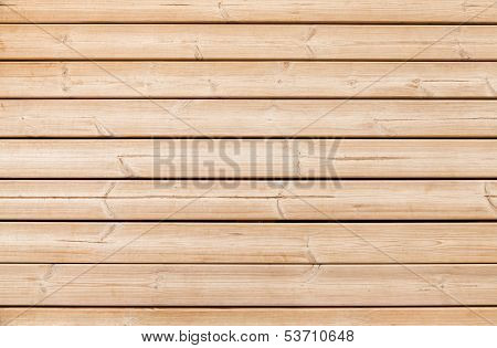 Uncolored Yellow Wooden Wall Closeup Background Texture