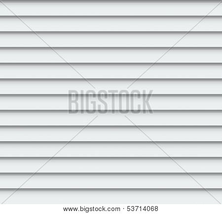 Vector Abstract Background - Light-coloured Plastic Siding. Eps10