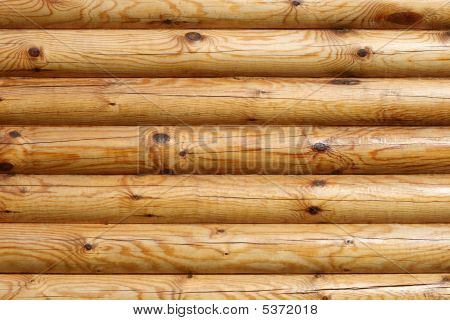 Logs Of Wooden House