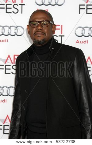 LOS ANGELES - NOV 9:  Forest Whitaker at the AFI FEST 2013 Presented By Audi -