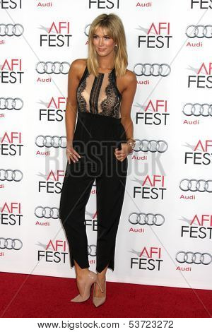 LOS ANGELES - NOV 9:  Delta Goodrem at the AFI FEST 2013 Presented By Audi -