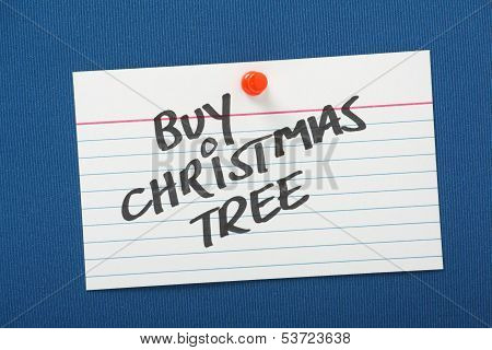 Buy Christmas Tree Reminder