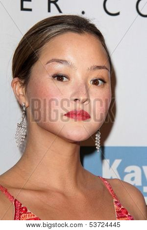 LOS ANGELES - NOV 9:  Devon Aoki at the Second Annual Baby2Baby Gala at Book Bindery on November 9, 2013 in Culver City, CA