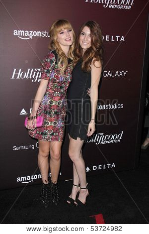 LOS ANGELES - NOV 6:  Bella Thorne, Dani Thorne at the Hollywood Reporter's Next Gen 20th Anniversary Gala at Hammer Museum on November 6, 2013 in Westwood, CA