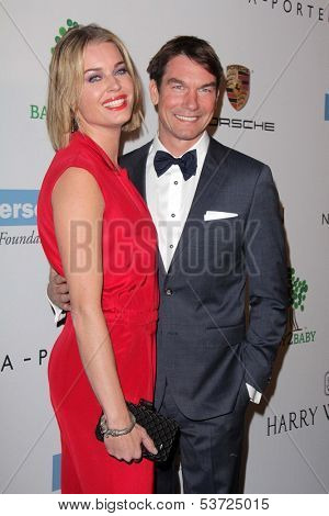 LOS ANGELES - NOV 9:  Rebecca Romijn, Jerry O'Connell at the Second Annual Baby2Baby Gala at Book Bindery on November 9, 2013 in Culver City, CA