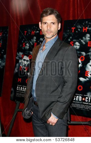 NEW YORK-AUG 19: Actor Eric Bana attends the 'Closed Circuit' screening at the Tribeca Grand Hotel on August 19, 2013 in New York City.