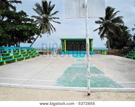 Caribbean Basketball Court