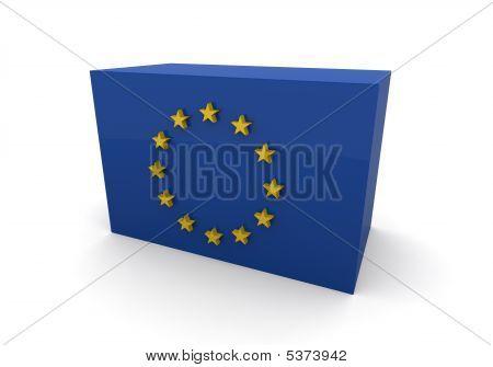 European Union Flag Block