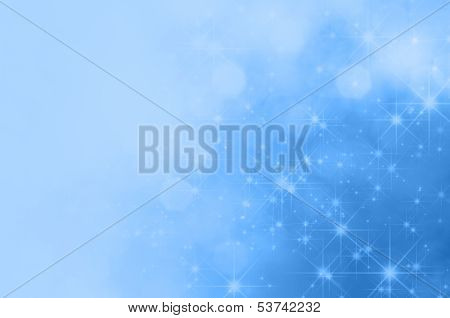 Blue Star Fade Background