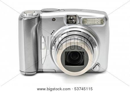 photocamera isolated on a white background