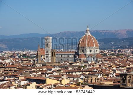 View Over Santa Maria Del Fiore