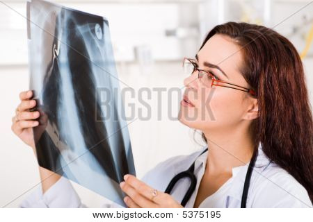 Working Female Doctor