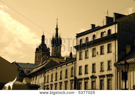 Atmosphere Of European City