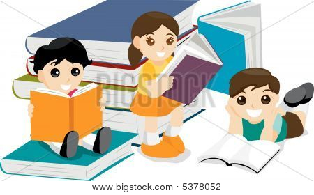 Kids Reading Book