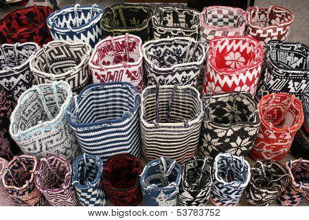Handmade Ecuadorian Bags