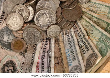 Old Ecuadorian Money