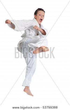 Emotional Karate Boy