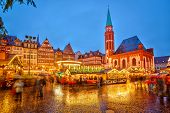 image of weihnachten  - Traditional christmas market in Frankfurt - JPG
