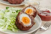 picture of scotch  - Scotch eggs - JPG