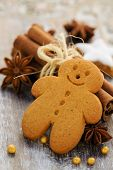 foto of ginger-bread  - Christmas Spices - JPG
