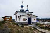 Russian Orthodox Church, Khuzir, Olkhon, Russia