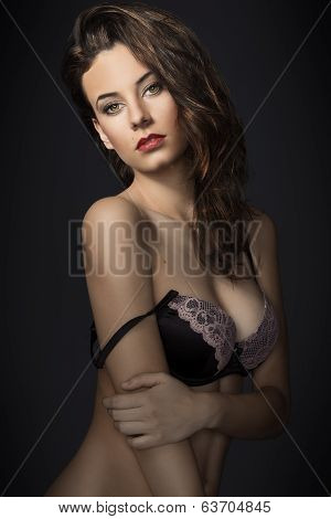 Sexy Fashion Girl In Lingerie