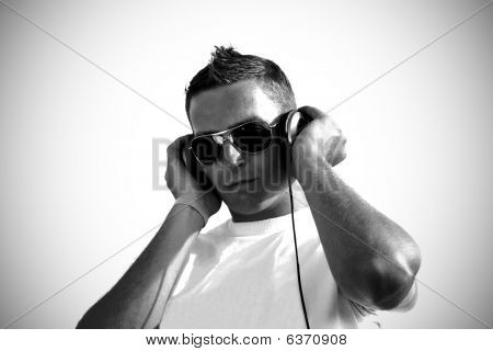 Dj With Headphones