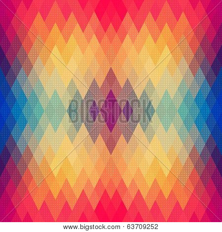 Vector Abstract Colorful Geometric Pattern