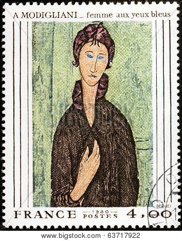 Modigliani Stamp