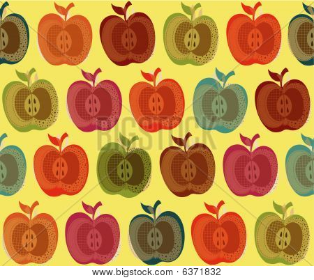 Fruit Apple Pattern