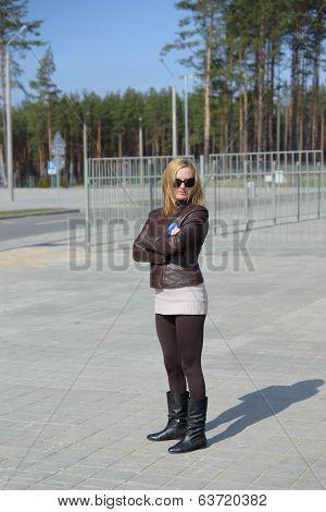 Girl In Sunglass