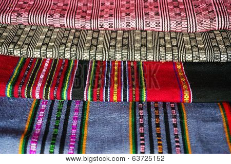 Woven Fabrics Of Yarn From Laos