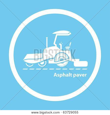 Wheel Asphalt Paver