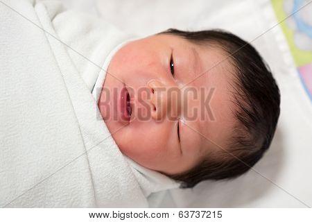 First day newborn baby