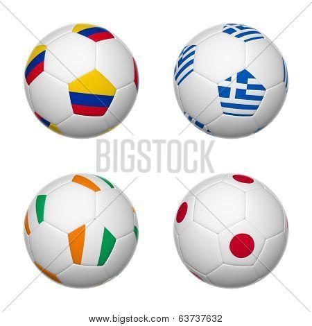 Soccer Balls Of Brazil 2014, Group C
