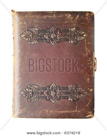 Isolated Antique Book