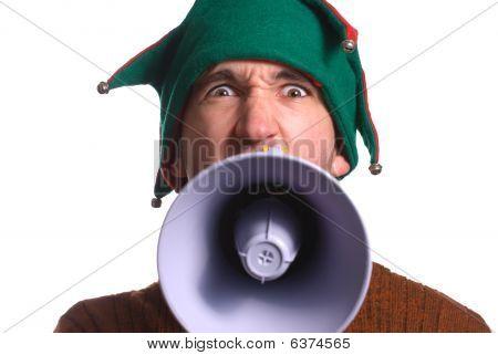 Yelling Elf
