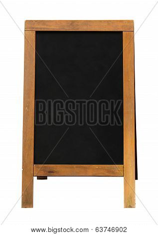 Wooden Blackboard Sandwich Board