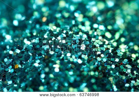 Abstract Turquoise Background. Macro