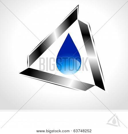 Industrial Water Drop Design