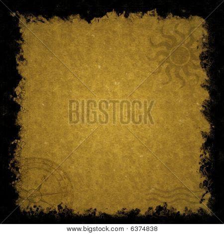 Fundo de textura de papel antigo pergaminho velho rústico