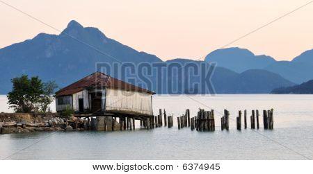Britannia Beach Sunset,  Squamish